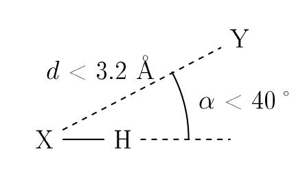 Critère de liaison hydrogène